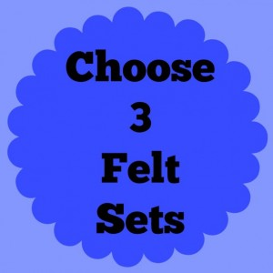Felt Board Sets, choose multiple, flannel board pieces, felt board pieces, many felt board sets, busy activity, quiet, preschool, homeschool