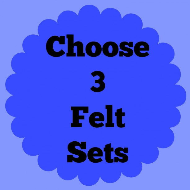 Felt Board Sets, choose multiple, flannel board pieces, felt board pieces, many felt board sets, busy activity, quiet, preschool, homeschool