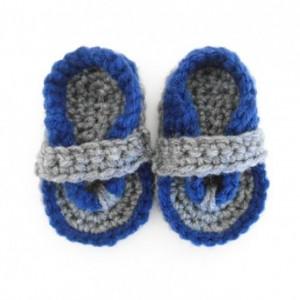 Crochet Baby Flip Flops - Crochet Baby Sandals - Crochet Flip Flops for Babies - Gray Baby Flip Flops -  Crochet Baby Shoes - Baby Gift