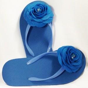 Rose Flip Flops| Bridesmaid Flip Flops| Bride Flip Flops| Made-to-Order Flower Flip Flops| Bridesmaid / Bride Gifts| Beach Coverup