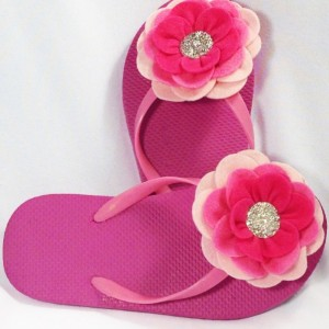 Camellia Flower Flip Flops  Bridesmaid Flip Flops  Bride Flip Flops  Made-to-Order Flower Flip Flops  Bridesmaid / Bride Gifts  Beach Coverup