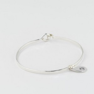 Ohm Bracelet, Sterling Silver Charm Bangle, Yogi Jewelry, Om Bracelet, Zen Jewelry, Namaste Bracelet, Silver Charm Bracelet, Hindu Jewelry