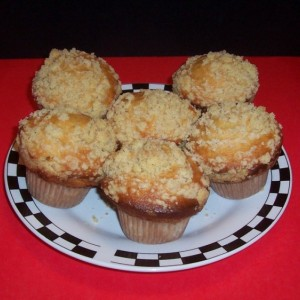 Peaches And Cream Muffin
