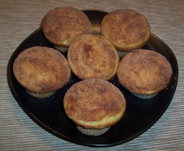 Cinnamon And Sugar Muffin