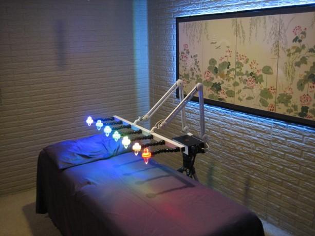 Quantum Resonance Crystal Bed