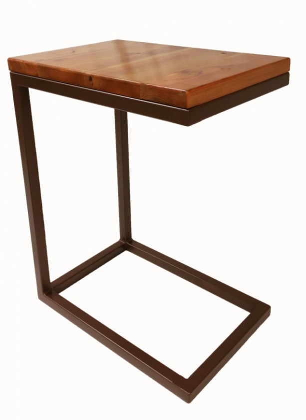Rustic Industrial Tray Table