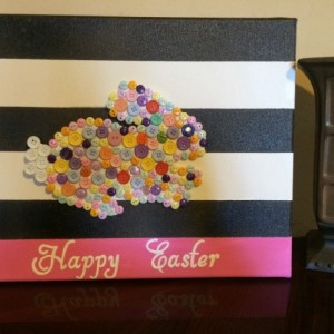 11x14 Easter Canvas Art