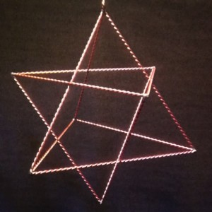 8 pointed merkaba or star tetrahedron