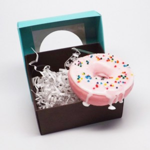 Frosted Raised Donut With Frosting And Sprinkles Glycerin Soap