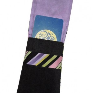 Tarot Bags, Tarot Pouch, Purple Silk Tarot Bag, Tarot Wrap, Oracle Cards Bag, Divination Cards Bag, Mala Bag, Handcrafted Bag by Wyldechilde
