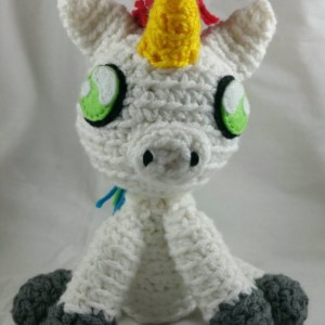 Mini Rainbow Unicorn Plush