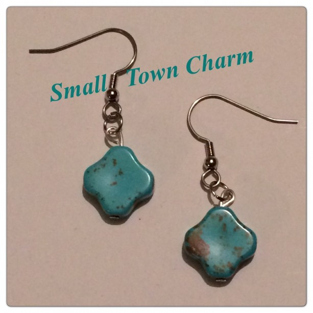 Clover Turquoise Earrings