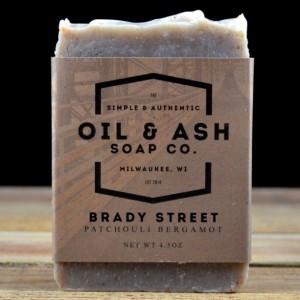 2 Pack- Patchouli Bergamot Soap, Exfoliant Soap, Handmade Soap, All Natural Soap, Cold Process Soap, Essential Oil Soap