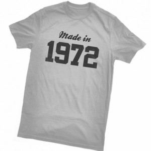 Custom Birthday Shirt, Made in 19XX   Adult Short Sleeve Tee Shirt  Plus Sizes available, Birthday Gift Shirt