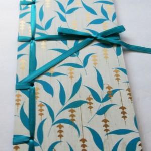 Pair of Journals | Gift for Writer | Japanese Stab Bound | Blank Books | Wrap Journals | Idea Books | Writing Journals | Hand Bound Journals