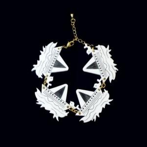 Sailor Bracelet, Sailing Bracelet, Boat Bracelet, Acrylic Charms, Gold Color Chain, Last Minute Gift