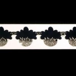 Cloud Bracelet, Cloud Charm, Weather, Acrylic, Laser cut, Chain Bracelet, Rain Bracelet, Storm Bracelet