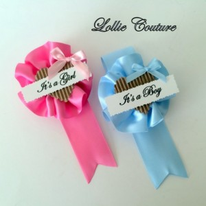 Baby Shower Badge Corsage Wedding Badge Birthday Party Bachelorette Party Bride to Be Badge Baby Shower Mommy to be