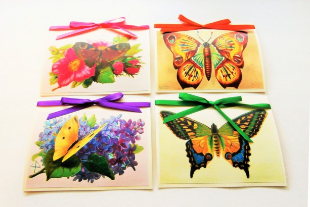 Butterfly Note Cards | Blank Note Cards | Note Card Set | Blank Stationery | Stationery Set | Blank Butterfly Cards | Blank Card Set