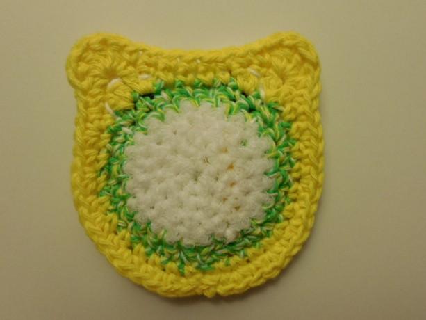 Set Of 2 Crochet Dish Scrubbie Nylon Scrubber Handmade Crochet