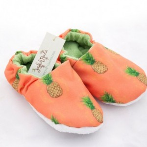 Baby Slippers, Pineapple Cloth Baby Shoes, Baby Shoes, Banana Fabric, Spring Shoes, Peach Cloth Shoes, Orange Pineapple