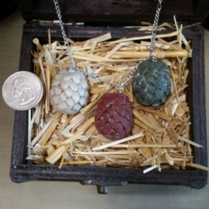 Dragon Eggs, Game of Thrones, Khaleesi necklace, Mother of Dragons, fantasy, GOT, dragon, jewelry