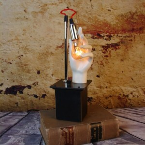 Table Lamp - Lighting - Upcycled Mannequin Light - Modern