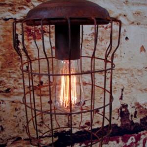 Hanging Lighting - Industrial Pendant Light - Ceiling Light - Rustic