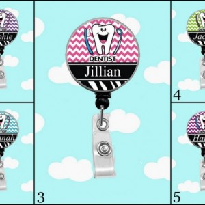 Dentist Personalized Badge Reel