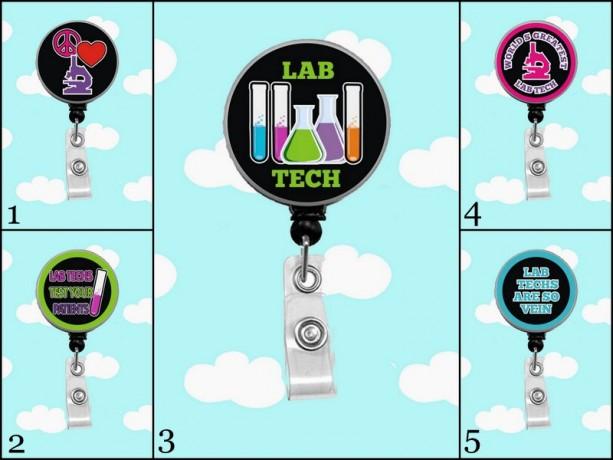 Lab Tech 2 Badge Reel
