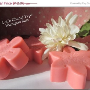 CoCo Chanel Type Shampoo Bars~Set Of 2~Women's Shampoo~Dupe Shampoo~CoCo Chanel~Women's Gift Sets~