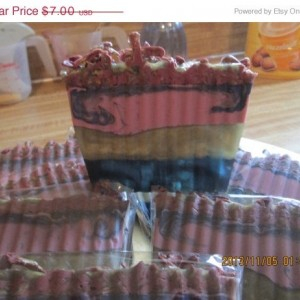 Pomegranate and Oak Soap