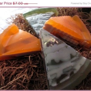 On Sale Pumpkin Pie Novelty Soap~Blackberry Vanilla Novelty Soap~ Pie Soap~Thanksgiving Soap~Christmas Soap~
