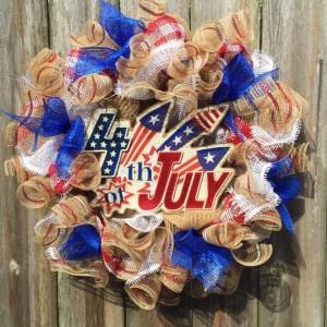 American Vintage wreath
