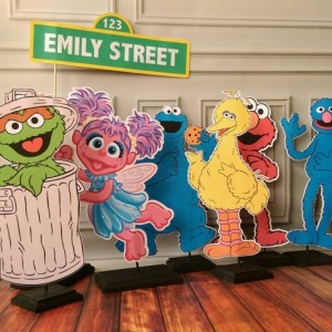 Elmo Party Decoration Centerpiece