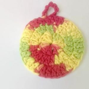 scrubbies - dish scrubbies - cotton scrubbies - crochet scrubbies - cotton washcloth - cotton pot scrubbies - multicolored washcloth