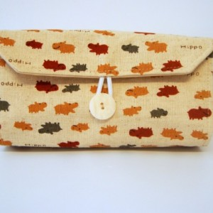 Cash Envelope Wallet  / Dave Ramsey System / Zipper Envelopes  - Tiny Hippos