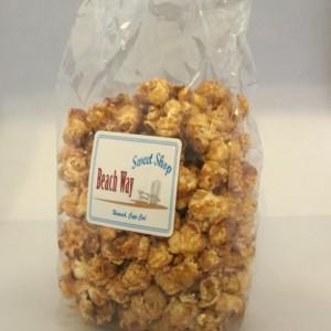Cape Cod Sea Salt Caramel PopCorn  / unique / gluten free / fun / different /  gift / present / favor