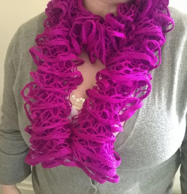 knit scarf/ruffle scarf/summer scarves/unique handmade scarves/womens scarves/fashion scarves/homemade scarves/homemade crochet scarves