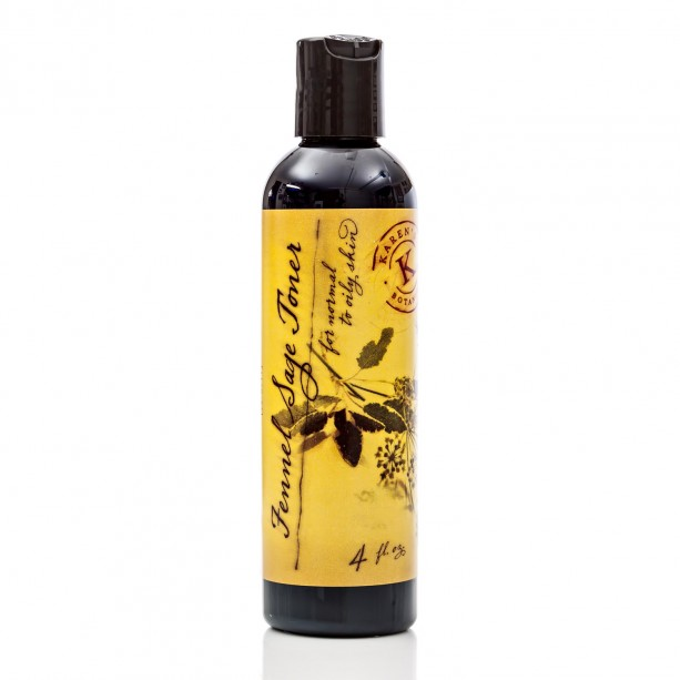 Fennel Sage Toner for Normal to Oily Skin, 4 oz