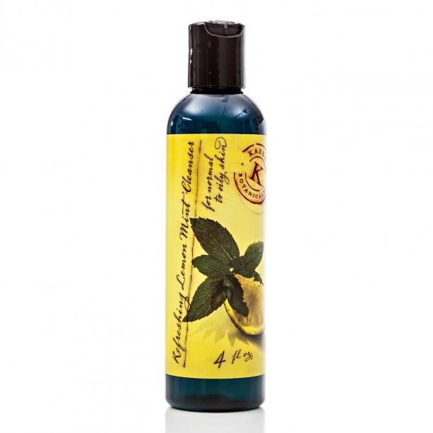 Refreshing Lemon Mint Cleanser for Oily Skin