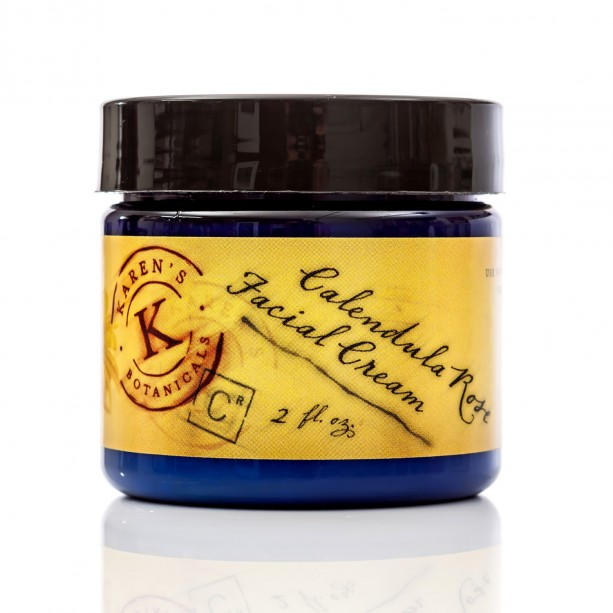 Calendula Rose Facial Cream, 2 oz
