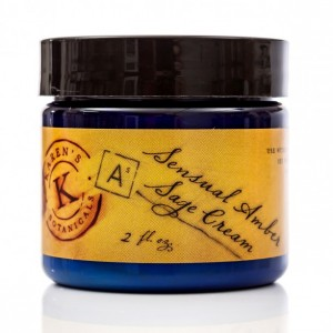 Sensual Amber Sage Cream, 2 oz