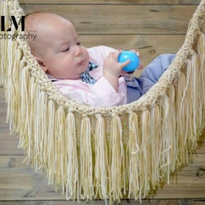 Crochet Baby Hammock Photo Prop