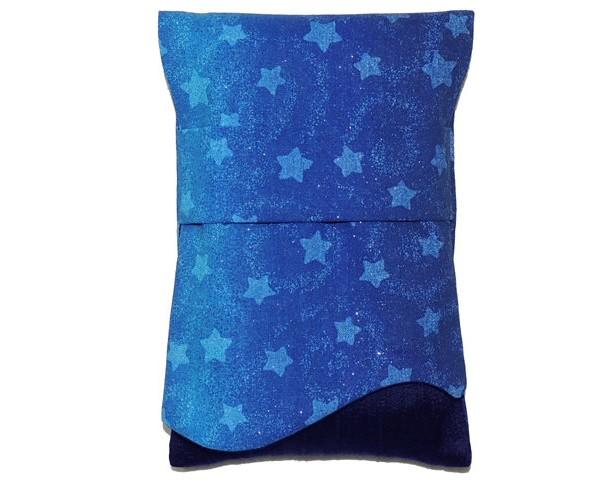 Tarot Bag, Tarot Pouch, Tarot Wrap, Stars Tarot Bag, Divination Cards Bag