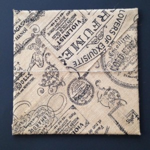 Paris Burlap Picture - Paris Decorations, French Decor // ready to hang FREE SHIPPING
