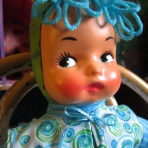 Handmade Kawaii Cloth Vintage Style Carnival Pixie Doll