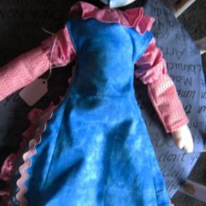 Handmade Cloth Pixie Doll