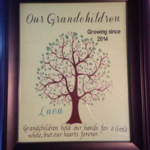 Personalized Family Tree picture frame-Custom Made Gifts, Holidays, Family Trees, Love, Picture Frames, 8 x 10