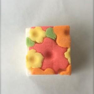 Sugar Scrub - 2 Flower Garden Sugar Scrubs - Shower Mochi Body Scrub - Bachelorette Favors - Shower favors - Bride To Be Favors